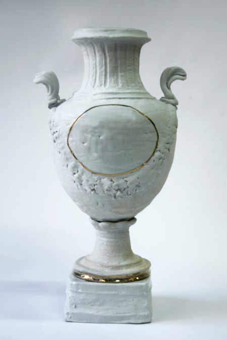 Winged White Porcelain